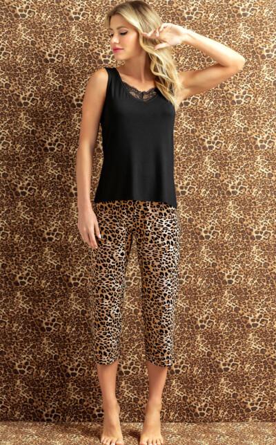 Pijama Regata com Capri