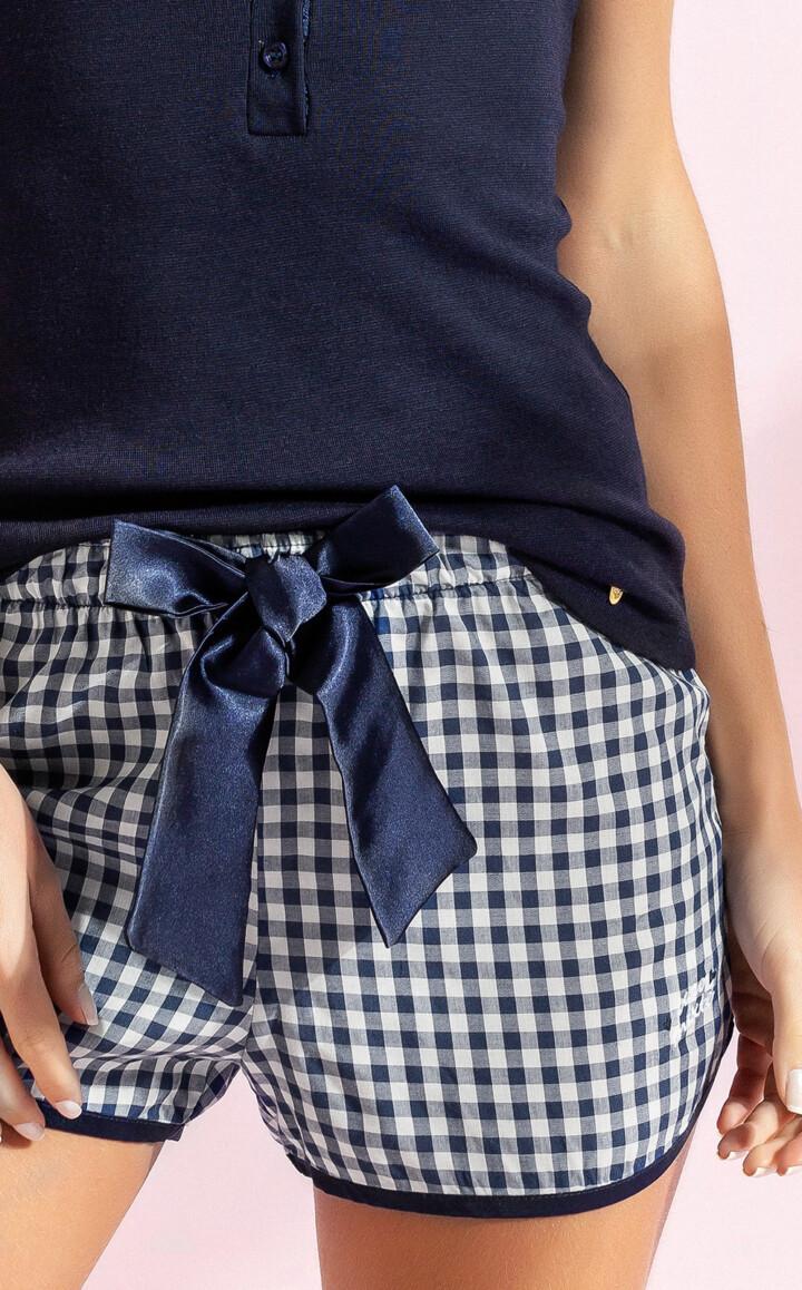 Pijama Blusa Peitilho com Short