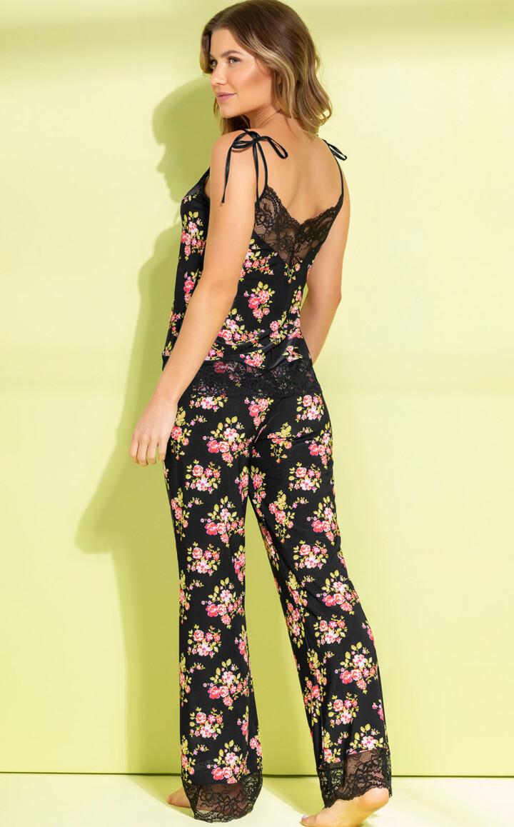 Pijama Blusa de Alça com Calça