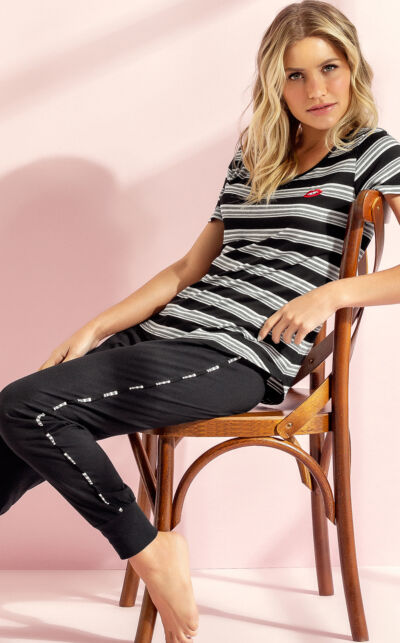 Pijama Blusa com Calça