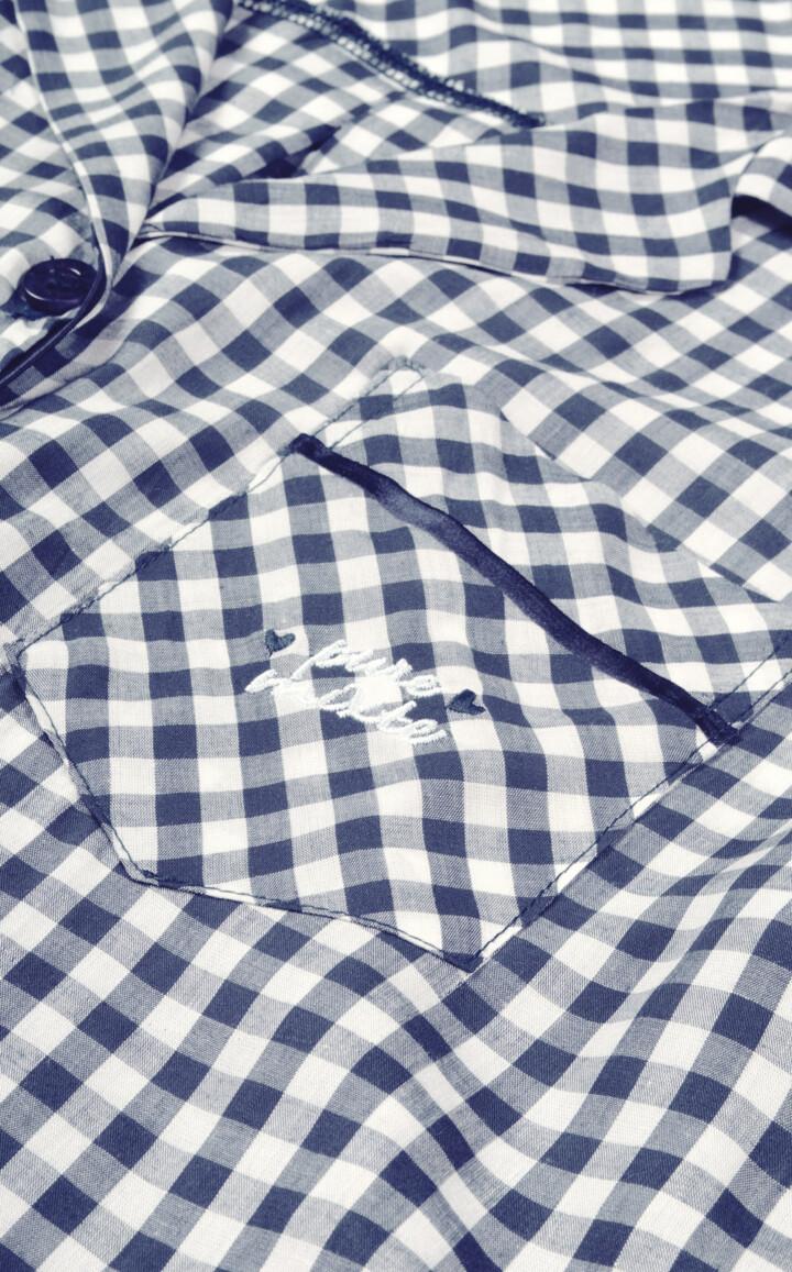 Pijama Cardigan Manga Curta com Short