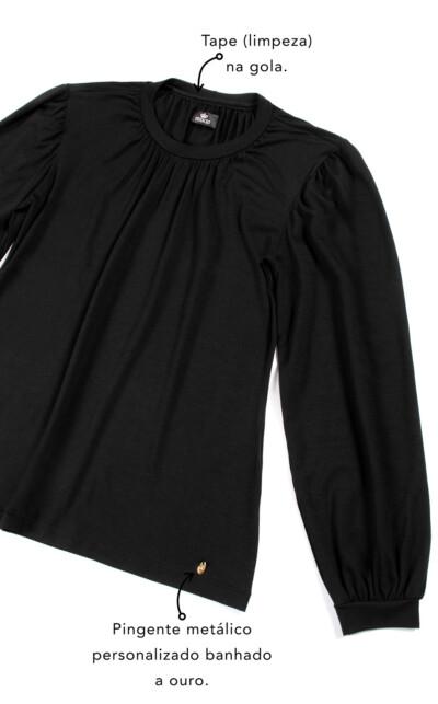 Blusa Manga Longa com Calça Florencia