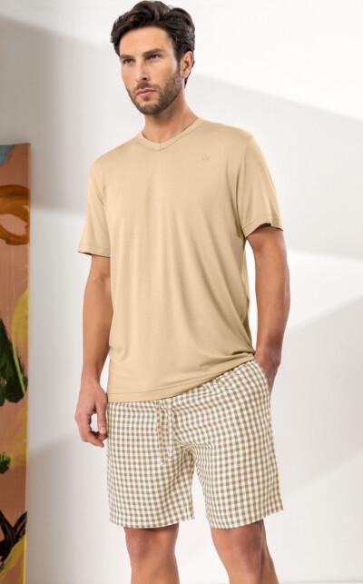 Camiseta Manga Curta com Bermuda Christian