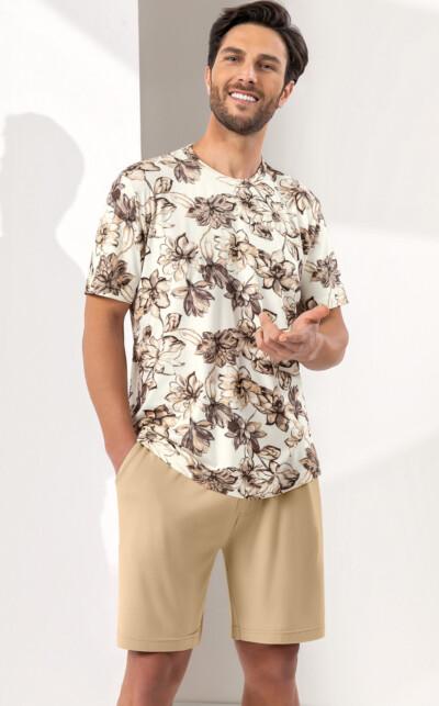 Camiseta Manga Curta com Bermuda Felipe