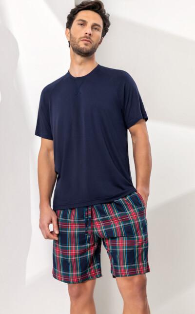 Camiseta Manga Curta com Bermuda Lautaro