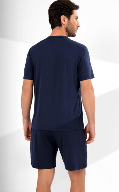 Camiseta Gola V com Bermuda Gabriel