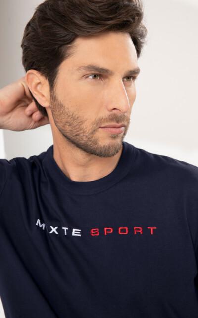 Camiseta Gola Redonda com Bermuda Sport