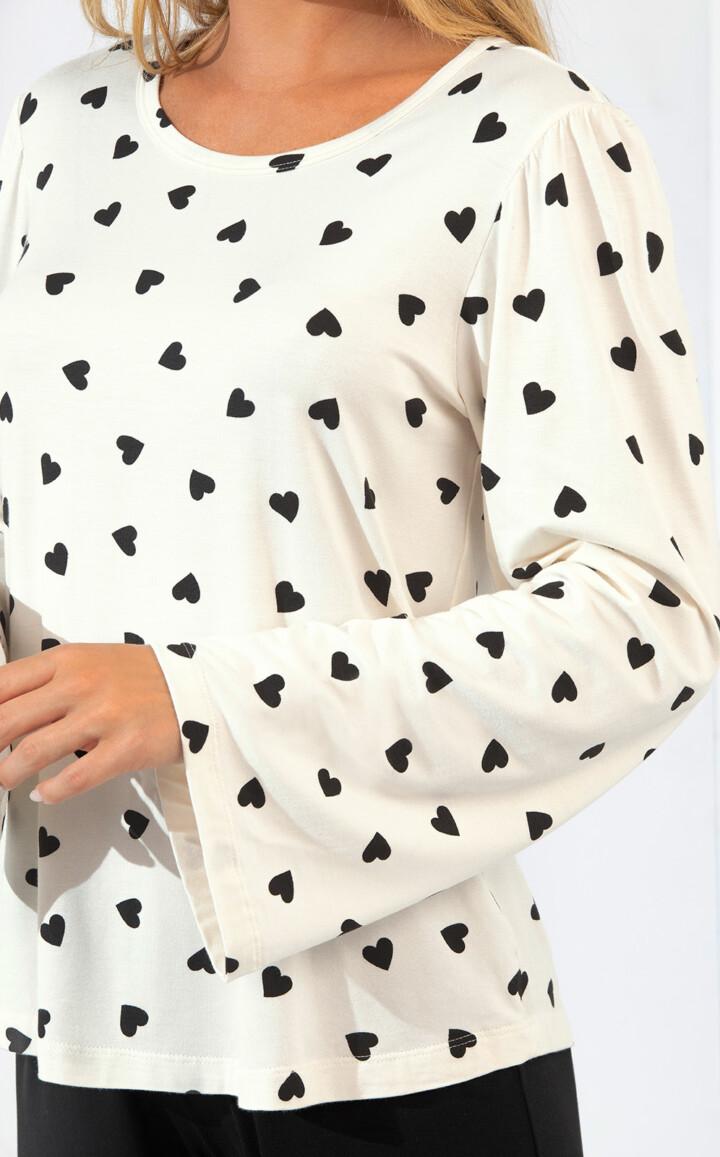 Blusa Manga Longa com Calça Mell