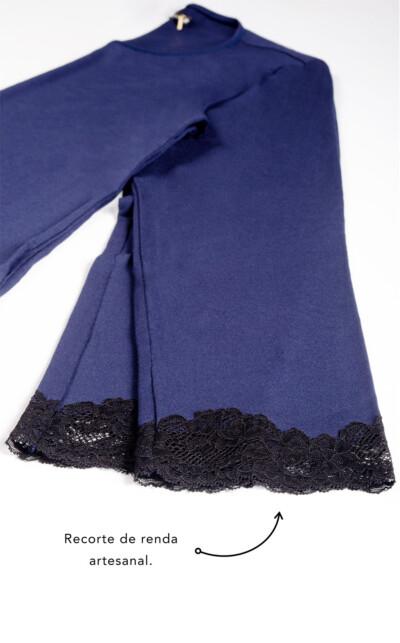 Blusa Manga Longa com Calça Iris